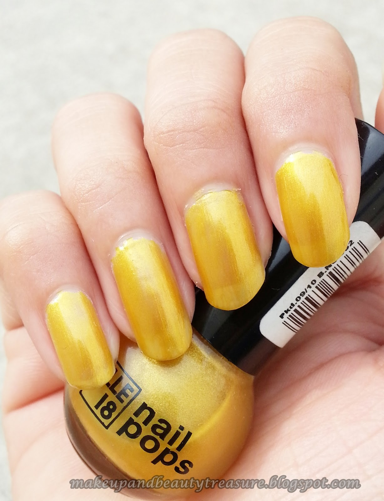 Yellow Nail Polish Dark Skin - To Bend Light