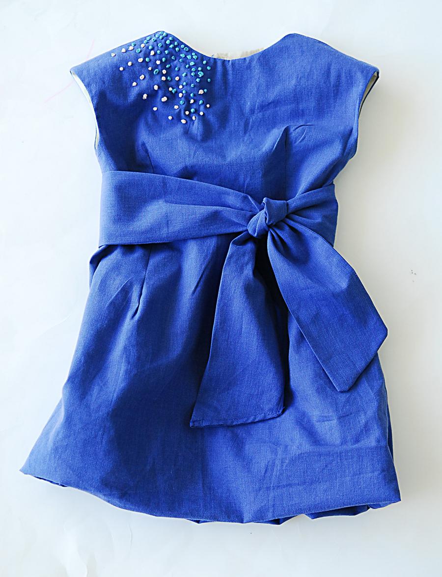 Как делать платье из рубашки 3