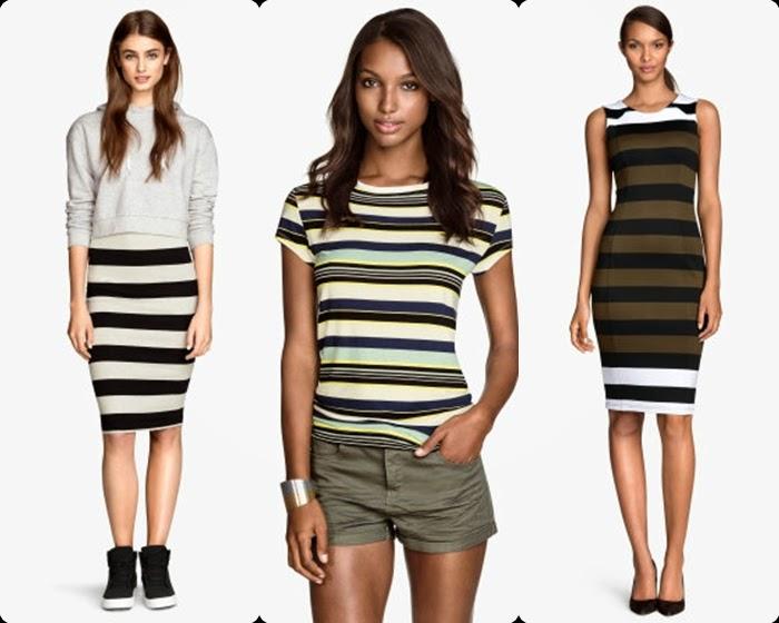 H&M Riscas - Saias, blusas, calças - Tendencia primavera-verão 2015