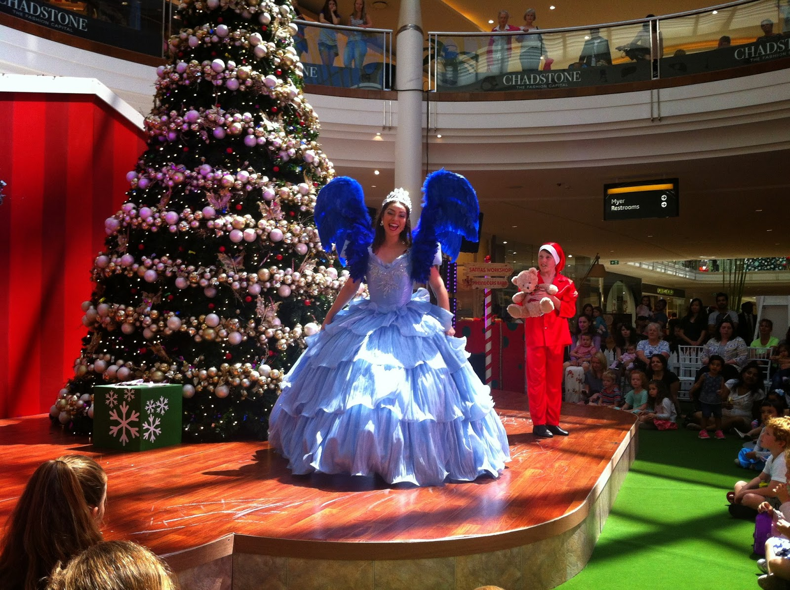 just over a week ago i was lucky to be invited to see the inaugural xmas pantomime at the chadstone shopping centre along with my little 18 month old boy - Why Is Christmas Called Xmas
