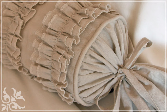 sew Pillow Ruffles