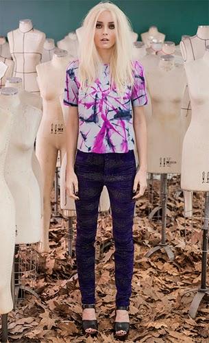 Patrícia Viera moda couro blusa e calça inverno