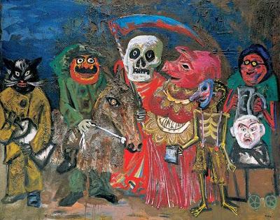 'El carnaval de Juanito Laguna', óleo del Maestro don Antonio Berni, tomado de trianarts.com
