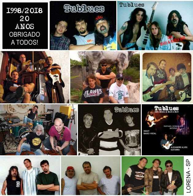 Tublues - 20 ANOS DE ROCK'NROLL