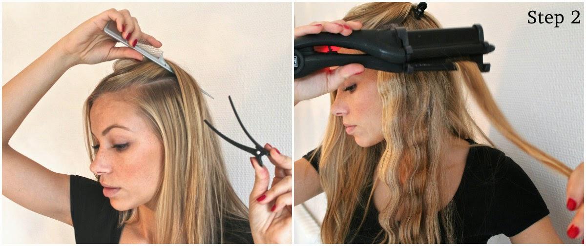 bølgejern til hår