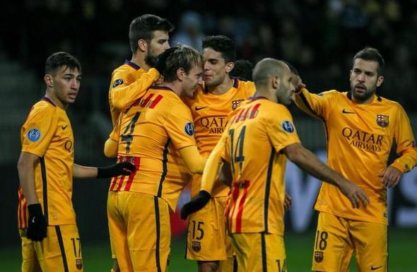 Hasil UCL : BATE Borisov vs Barcelona Rabu Dini Hari 21 Okt 2015