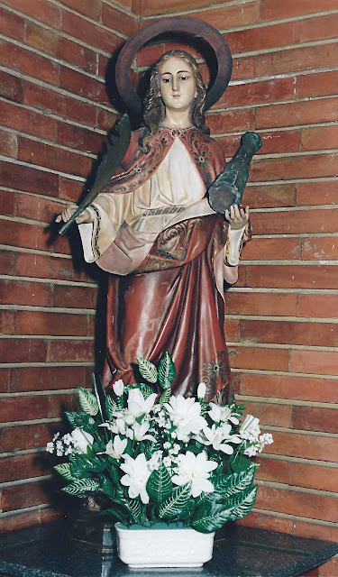 Santa Bárbara en Moreda, Gijón