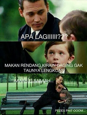 Meme Comic lucu Episode Finding Neverland