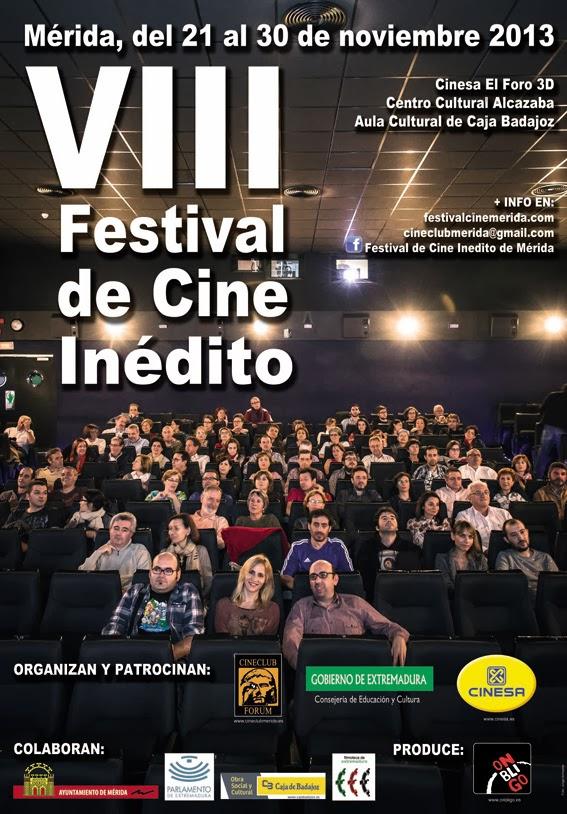 VIII Festival de Cine Inedito de Merida: Programacion