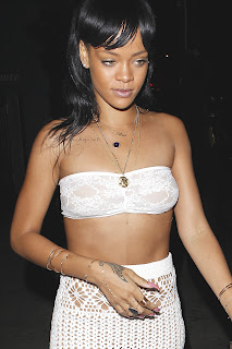 Rihanna See-Thru Candids
