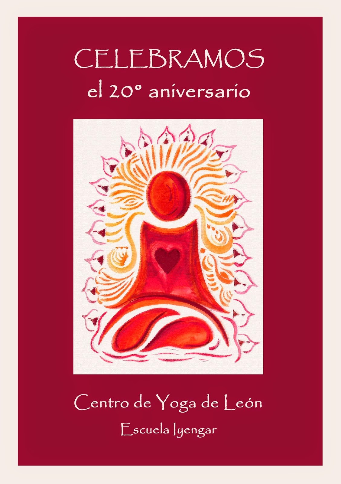 20º Aniversario del Centro de Yoga de León- Escuela Iyengar