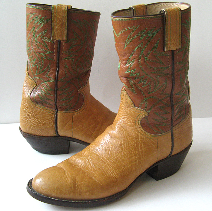 s custom embroidered cowboy boots excellent mens