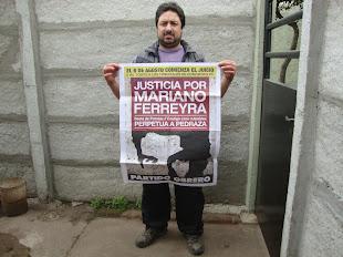 LEZCANO, TRABAJADOR DEL RESTAURANTE EL ANDÉN, TAMBIÉN PIDE JUSTICIA POR MARIANO