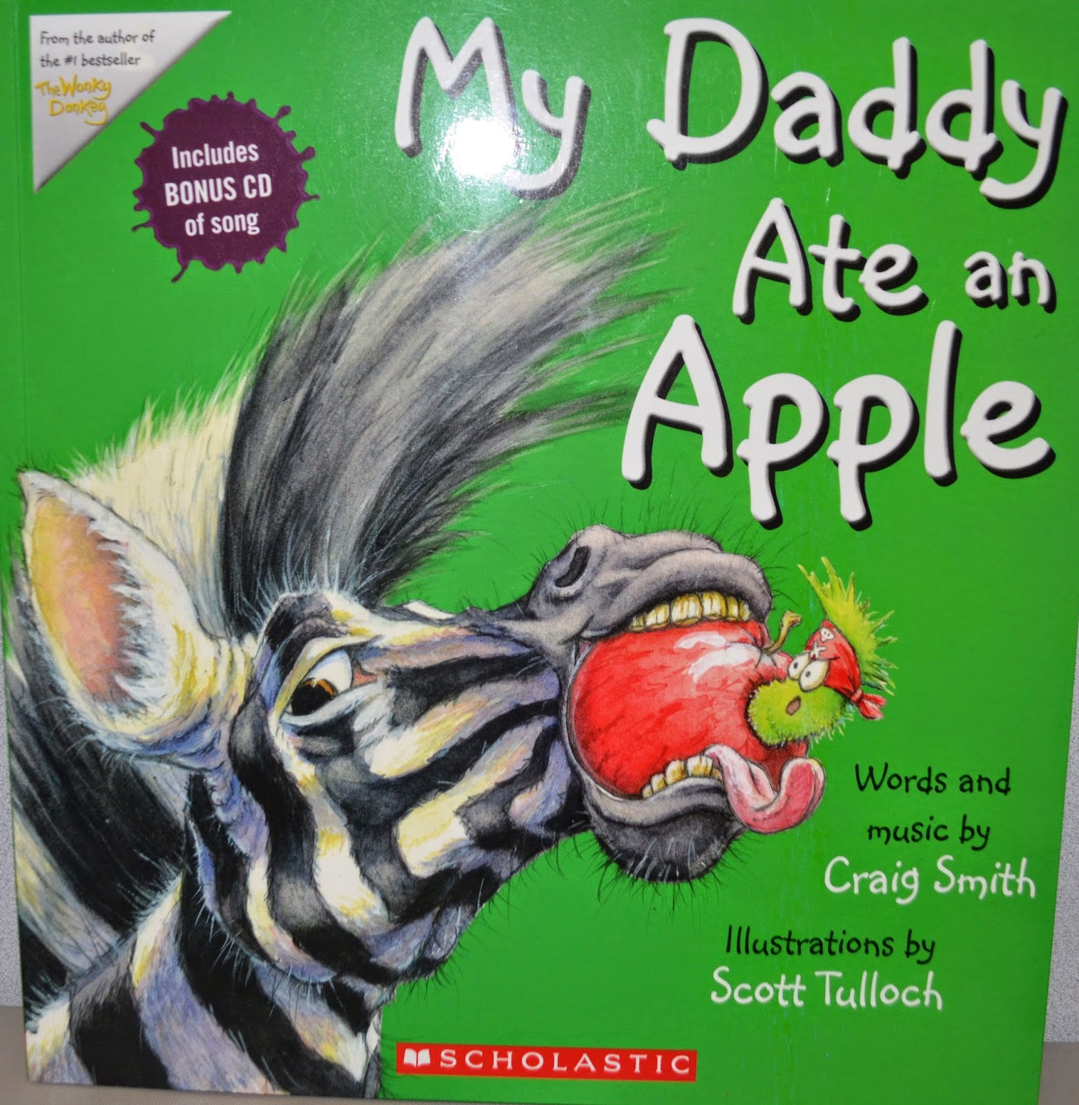 My Daddy Ate An Apple Music and storybook