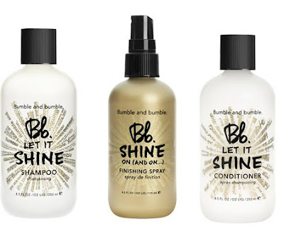 Bumble and bumble, Bumble and bumble Bb. Shine Shampoo, Bumble and bumble Bb. Shine Conditioner, Bumble and bumble Bb. Shine Finishing Spray, Bumble and bumble Bb. Shine Collection, Bumble and bumble shampoo, Bumble and bumble conditioner, shampoo, conditioner, hair, hair products, styling product, beauty, beauty giveaway, giveaway, A Month of Beautiful Giveaways