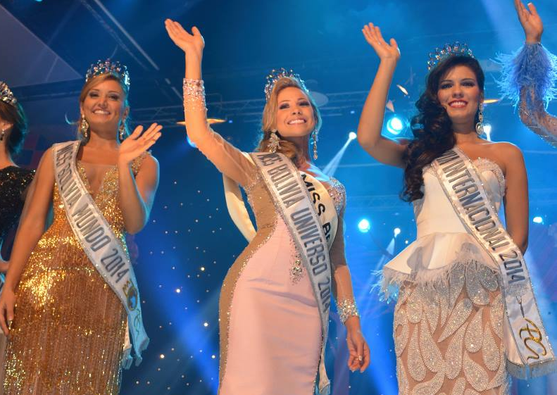 Miss Bolivia Universo Universe 2014 winner Romina Rocamonje Fuentes