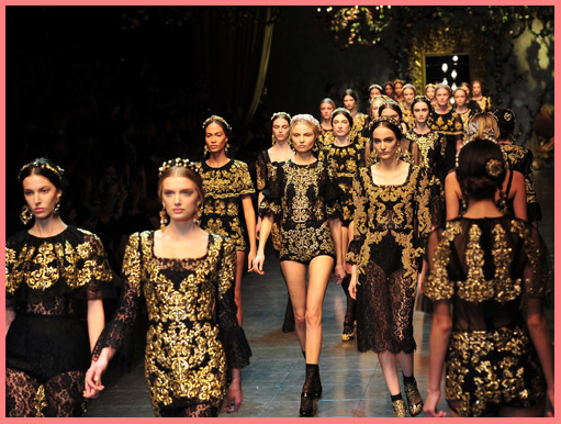 The creation of beauty is art favourite fall trend baroque for Baroque fashion trend