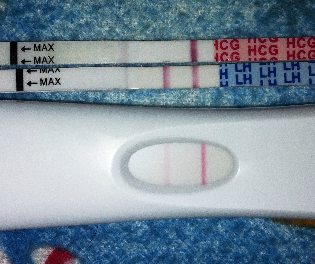 Did my ex tamper with pregnancy test?
