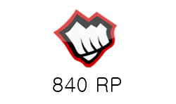 League of Legends 840 RP