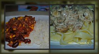 schnelle und leckere Gerichte aus der Kochzauber Box