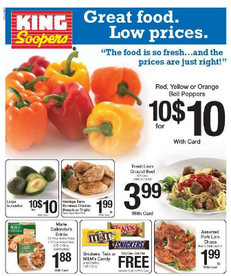 image regarding King Soopers Coupons Printable known as King soopers colorado coupon matchups : Scream zone discount coupons