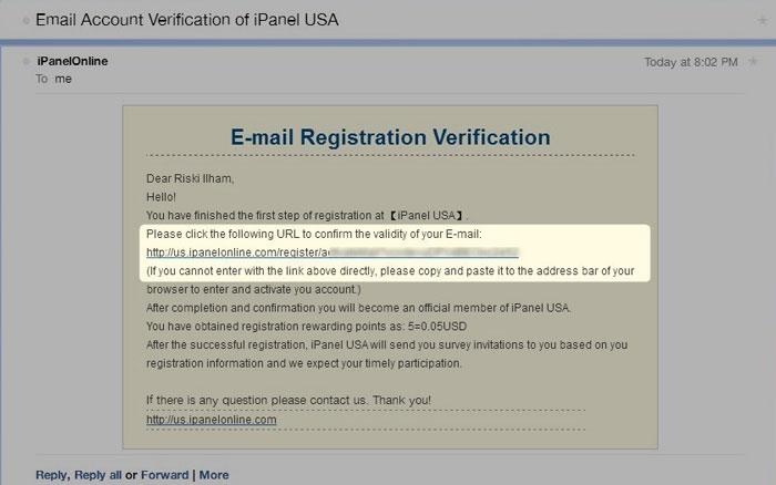 Cara Mendaftar dan Membuat Akun di iPanel Online 3