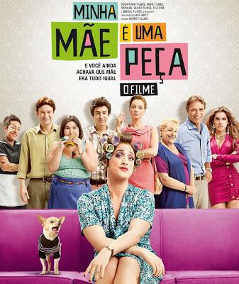 """Poster do filme """"Minha Mãe É Uma Peça"""""""