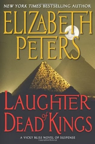 cover of Laughter of Dead Kings by Elizabeth Peters