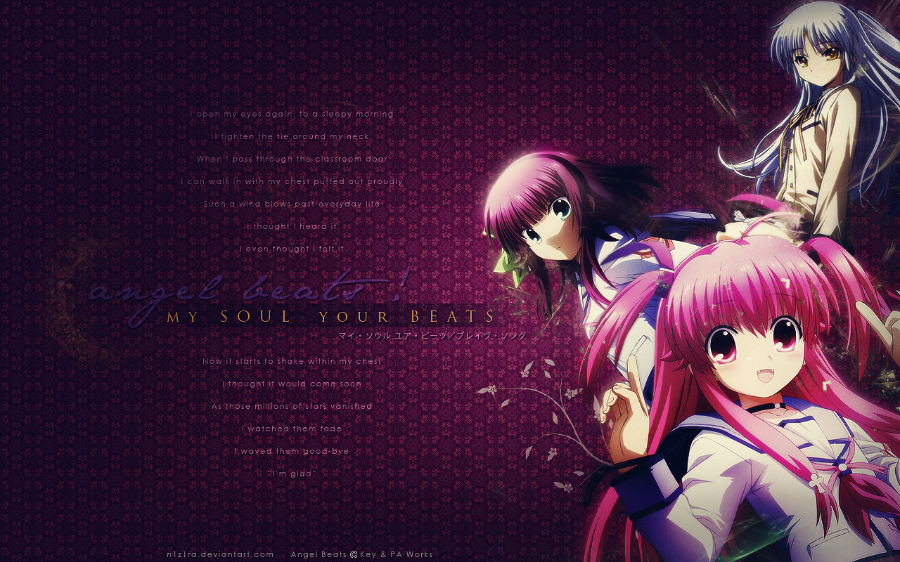 yuri nakamura angel beats wallpaper anime hd wallpapers