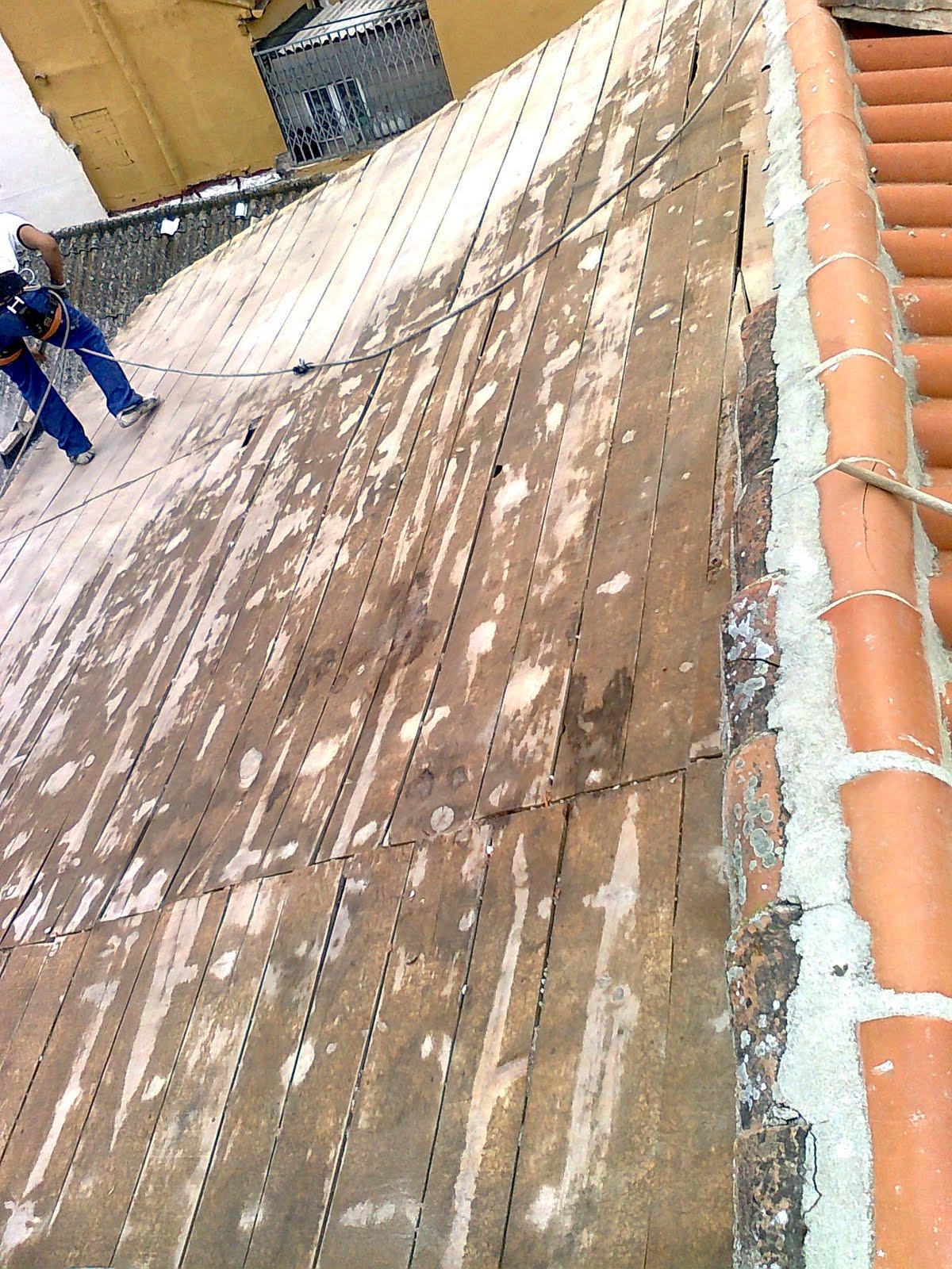 Reforma de tejados en madera de madrid cubiertas de for Tejados de madera barcelona