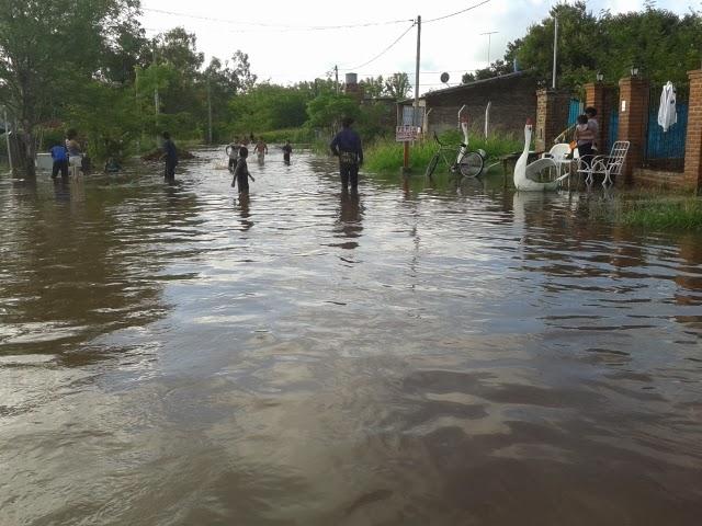 Luján: Jornadas solidarias por la inundación