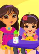 Даша няня - Онлайн игра для девочек