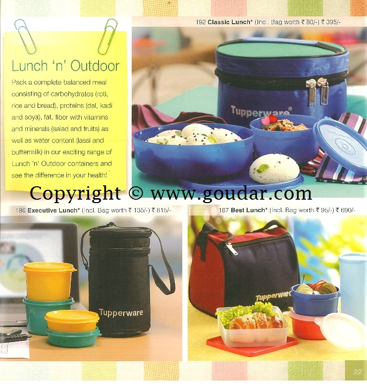 Tupperware catalogues & Flyers