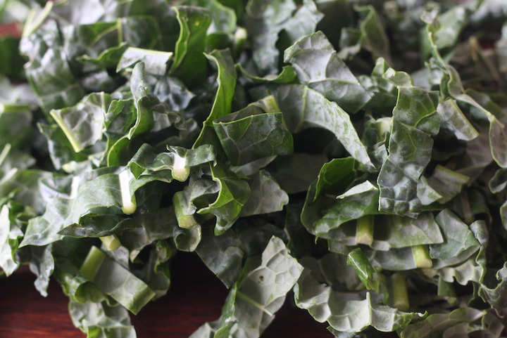 Tuscan kale for stir fry