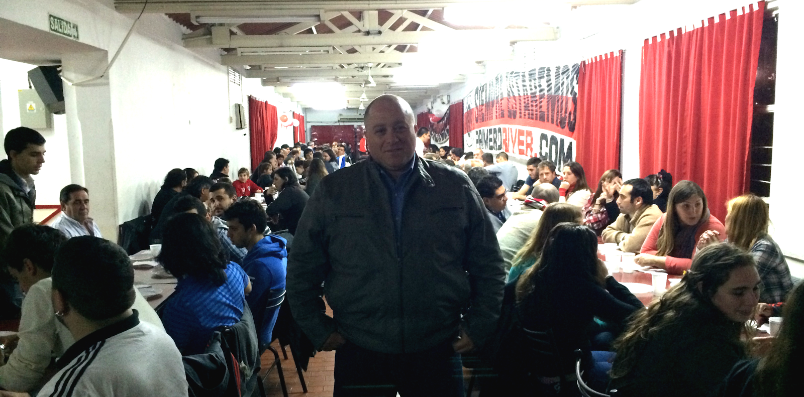 Antonio Caselli, Caselli, socios, River Plate, quinchos,