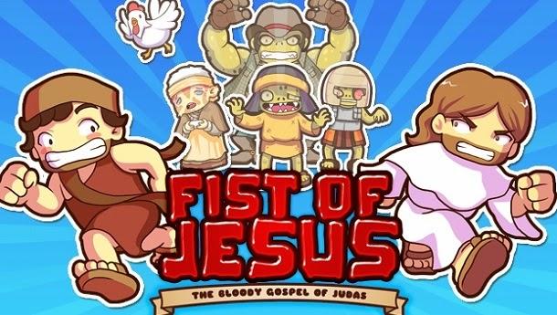 Conheça Fist of Jesus, o game que mistura Final Fight com a vida de Jesus