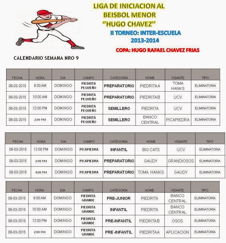 Liga de Iniciación al Beisbol Hugo Chavez
