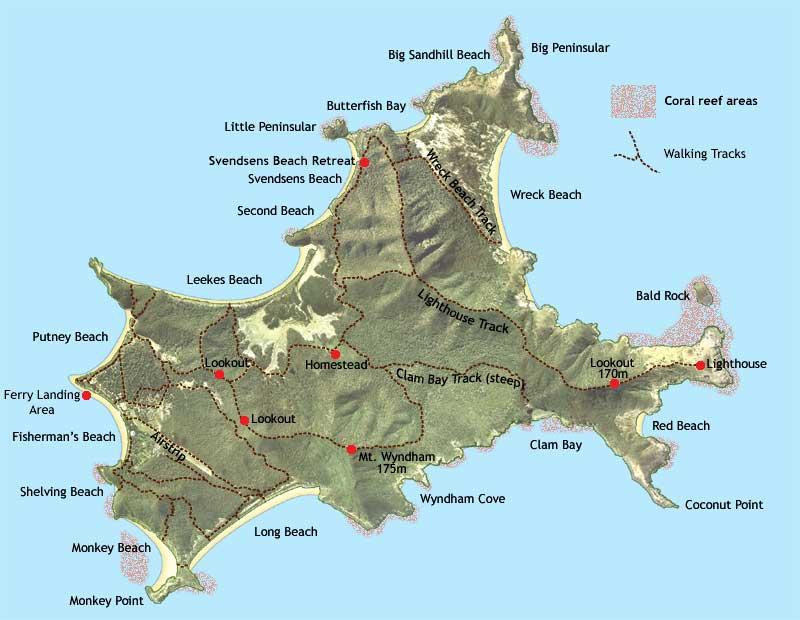 Wreck Beach Great Keppel Island
