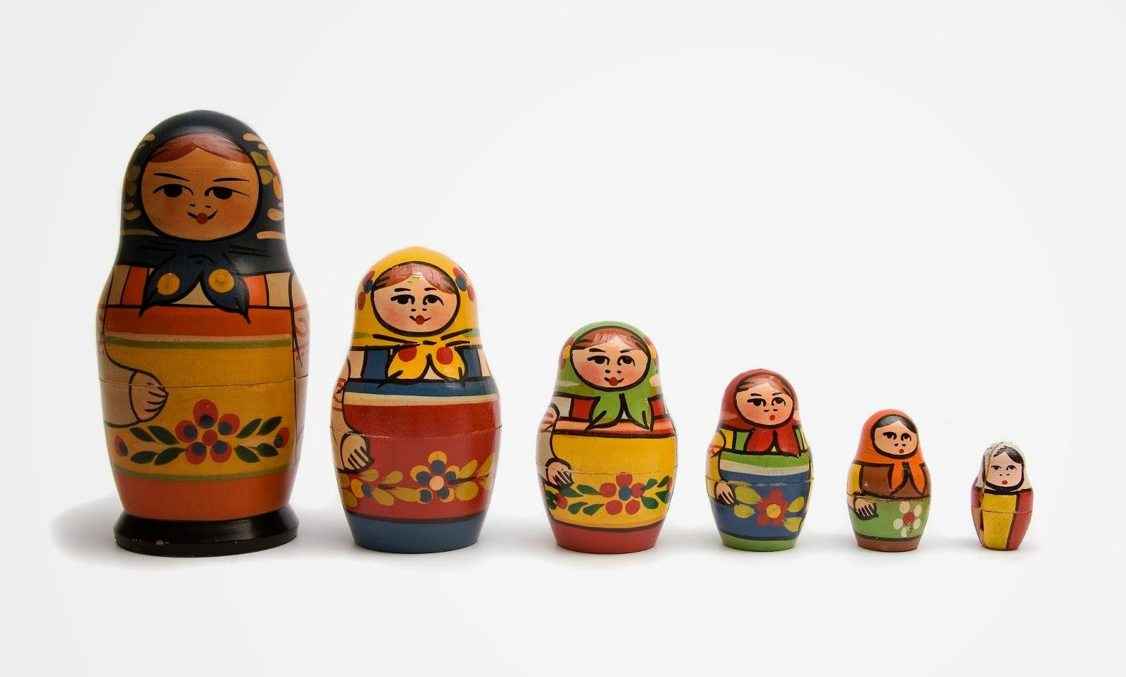 muñecas matrioshka