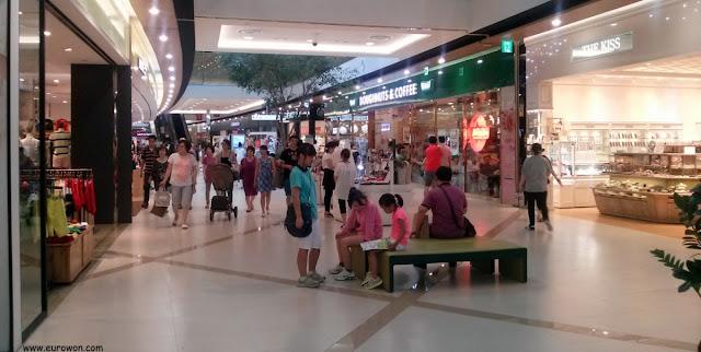 Centro comercial del aeropuerto de Gimpo en Seúl