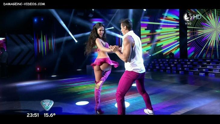 Celeste Muriega big round booty upskirt HD damageinc-videos