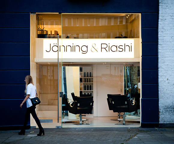 Jonning and Riashi hair salon