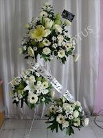 standing flowers elegant toko bunga