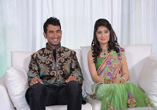 Cheteshwar-Pujara-and-his-Wife