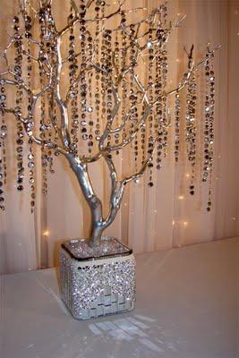 Galeria flores y varas - Arboles secos decorados ...