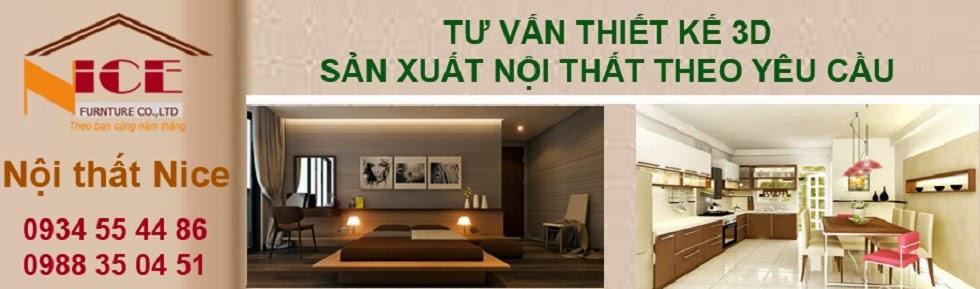 Nội thất Nice. Thiết kế và sản xuất nội thất theo yêu cầu