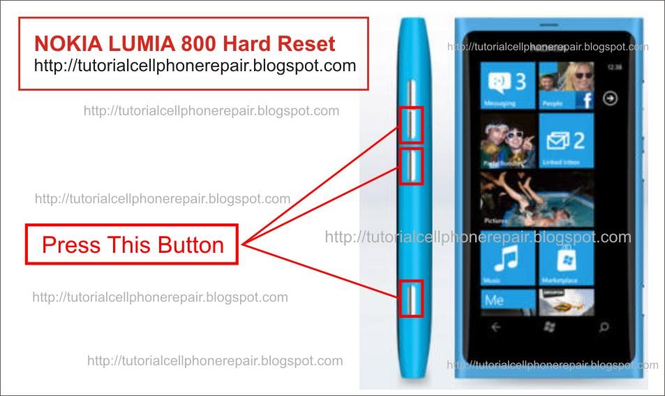 Как сделать хард ресет на lumia 720
