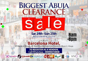 Biggest Abuja Clearance Sale