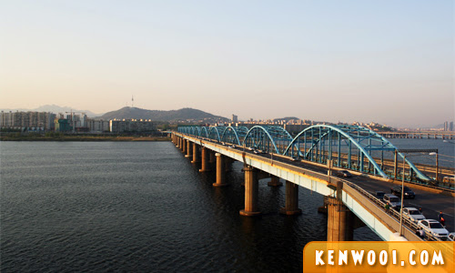 seoul han river bridge