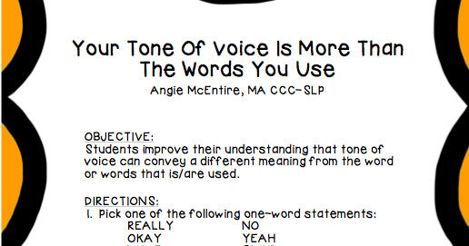 2speakright  tone of voice is more than the words you use